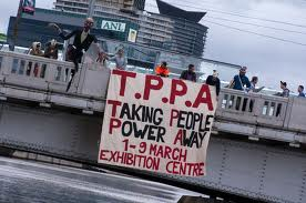 TPPA Protest