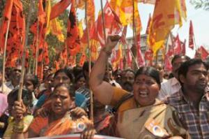 India general strike