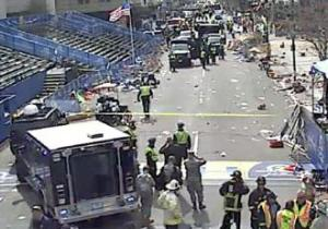 Aftermath of the Boston marathon bombing