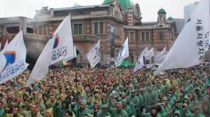korean railway workers union strike