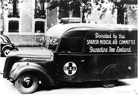 Dunedin Ambulance for Spanish Revolution
