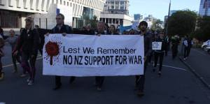 No Support for War