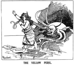 Anti-Asian racism - such as this 'Truth' cartoon from 1907 - disfigured much of the twentieth-century labour movement. Let's not let it infect the twenty-first's.