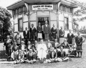 Tupua Tamasese Lealofi III and other Mau leaders and activists - heroes in the struggle for a free Samoa