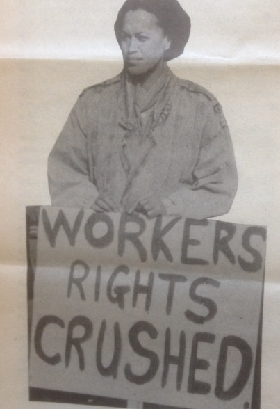 Workers Rights Crushed