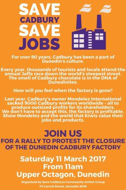save cadbury jobs
